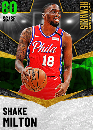 Shake Milton emerald card