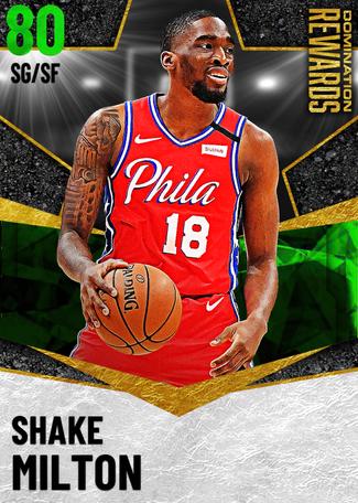 Shake Milton emerald card