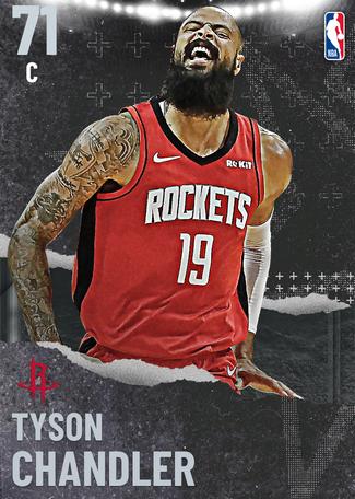 Tyson Chandler silver card
