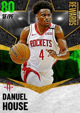 Danuel House emerald card