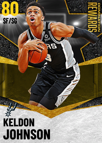 Keldon Johnson gold card