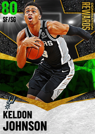 Keldon Johnson emerald card