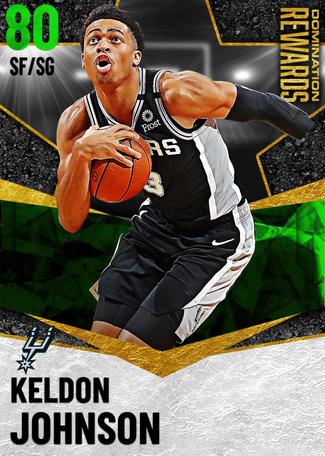 Keldon Johnson emerald card