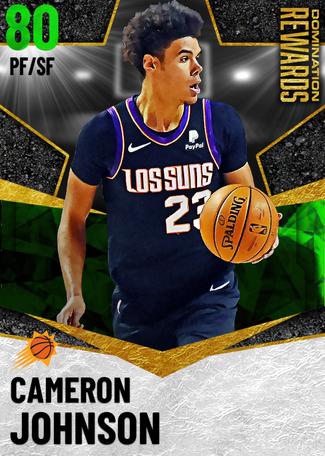 Cameron Johnson emerald card