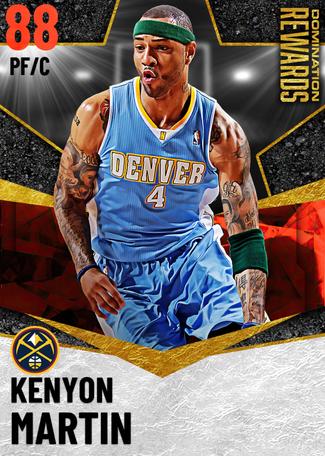 '02 Kenyon Martin ruby card
