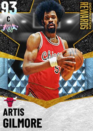 '88 Artis Gilmore diamond card