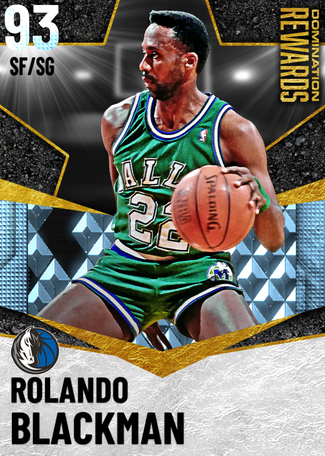 '94 Rolando Blackman diamond card