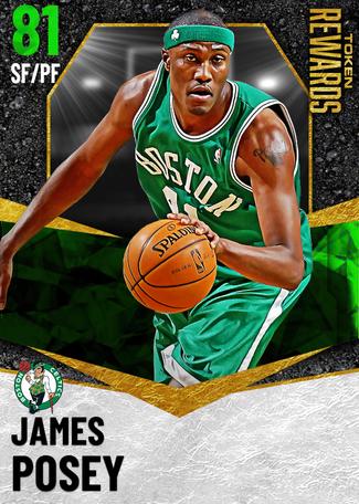 '08 James Posey emerald card