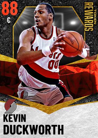 '97 Kevin Duckworth ruby card