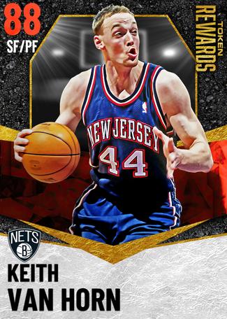 '06 Keith Van Horn ruby card