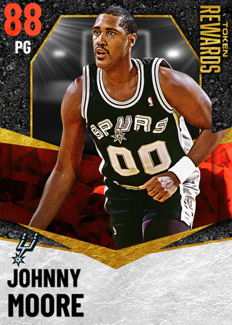 '90 Johnny Moore ruby card