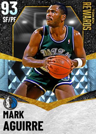 '94 Mark Aguirre diamond card
