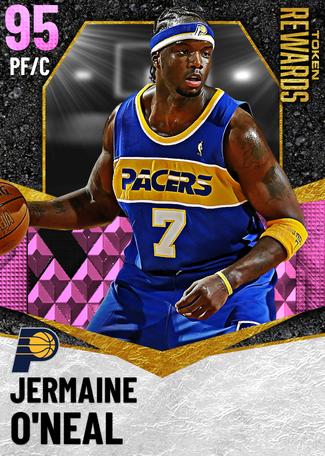'14 Jermaine O'Neal pinkdiamond card