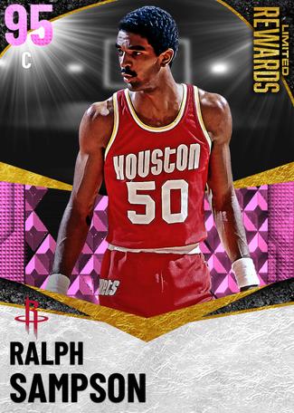 '92 Ralph Sampson pinkdiamond card