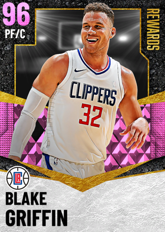 Blake Griffin pinkdiamond card