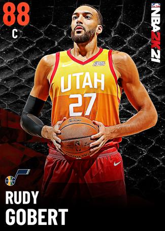 Rudy Gobert ruby card