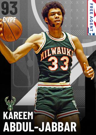 '89 Kareem Abdul-Jabbar onyx card