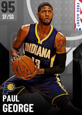Paul George onyx card