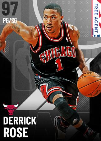 Derrick Rose onyx card
