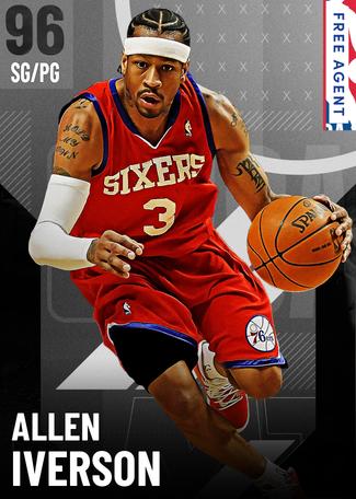 '04 Allen Iverson onyx card