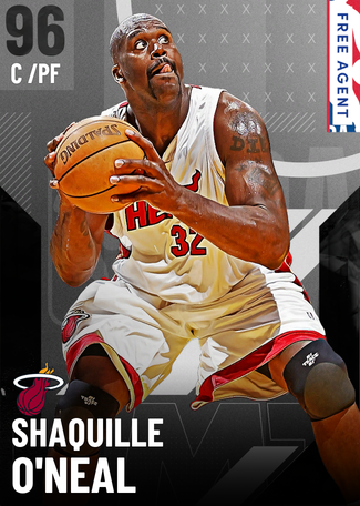 '11 Shaquille O'Neal onyx card