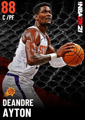 Deandre Ayton ruby card