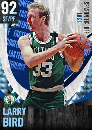 '95 Larry Bird diamond card