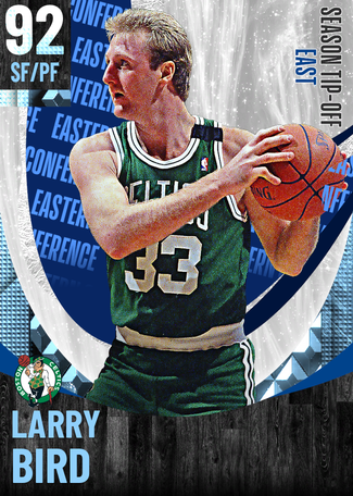 '95 Larry Bird diamond card