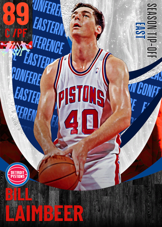 '94 Bill Laimbeer ruby card