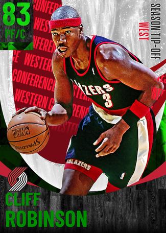 '91 Cliff Robinson emerald card