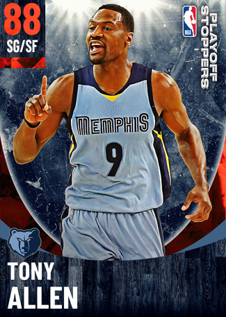 Tony Allen ruby card