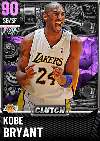 '03 Kobe Bryant amethyst card