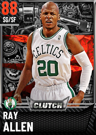'14 Ray Allen ruby card