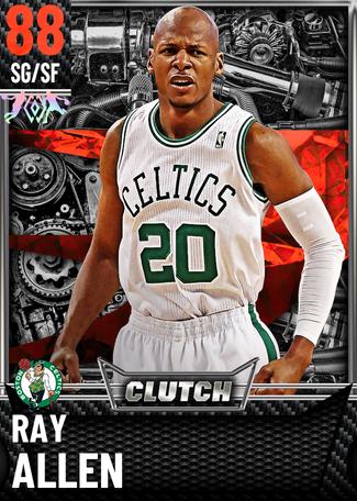 '14 Ray Allen ruby card