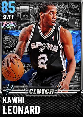 '14 Kawhi Leonard sapphire card