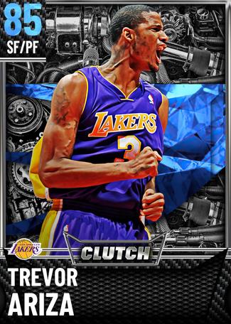'10 Trevor Ariza sapphire card