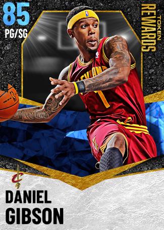 '07 Daniel Gibson sapphire card
