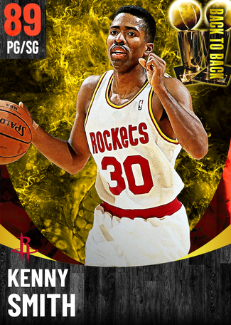 '97 Kenny Smith ruby card