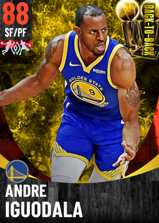 '18 Andre Iguodala ruby card
