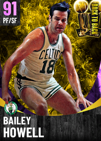 Bailey Howell amethyst card