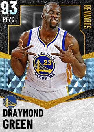 '16 Draymond Green diamond card