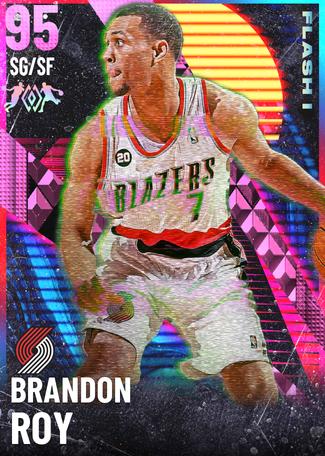 '12 Brandon Roy pinkdiamond card