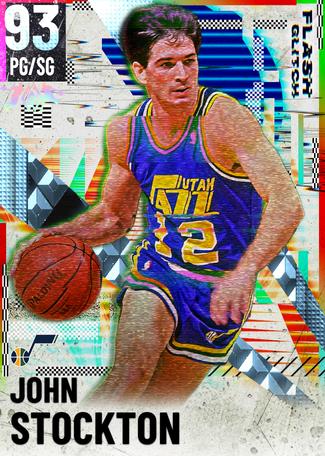 '03 John Stockton diamond card