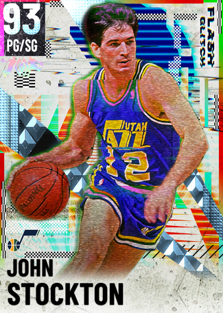 '03 John Stockton diamond card