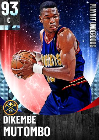 '09 Dikembe Mutombo diamond card