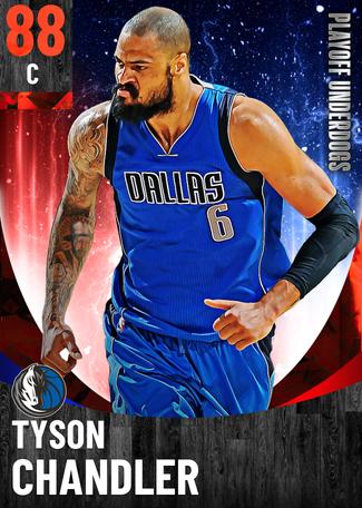 Tyson Chandler ruby card