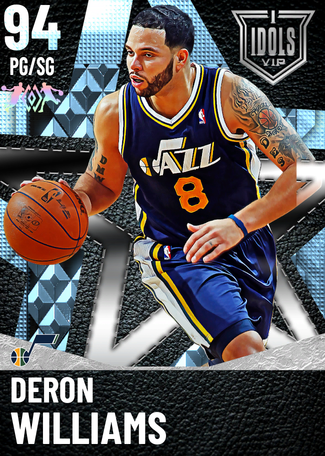 '09 Deron Williams diamond card
