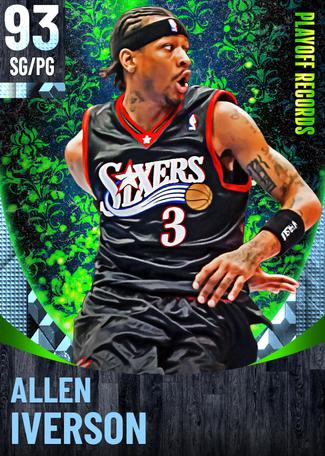 '04 Allen Iverson diamond card