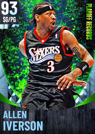 '04 Allen Iverson diamond card