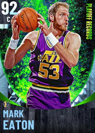 '93 Mark Eaton diamond card